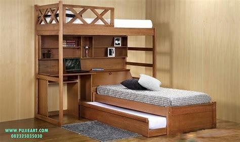 Ranjang Susundipan Susun Tingkat Jati 4 ranjang susun untuk anak anak ranjang susun anak anak pujieart furniture jepara