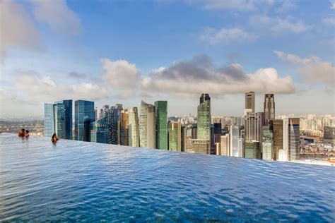 infinity pool shanghai the world s craziest hotel pools photos huffpost