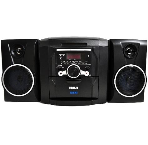 5 Cd Stereo Shelf System by Rca Rs22162s 5 Disc Cd Audio System W Am Fm Radio Mini Shelf