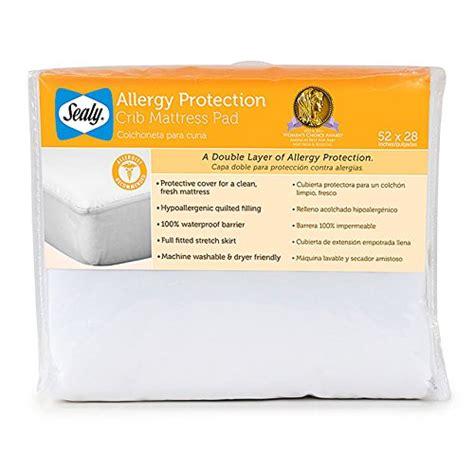 sealy crib mattress pad sealy allergy protection crib mattress pad sealy sealy