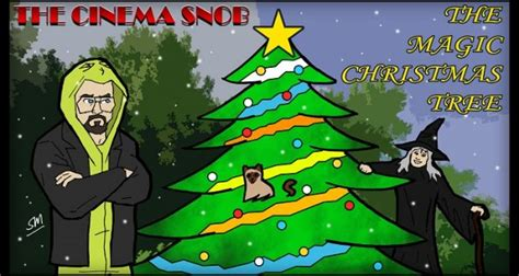 the magic christmas tree the cinema snob channel awesome