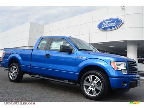 2014 Ford F150 Stx by 2014 Ford F150 Stx Supercab In Blue F50822 All