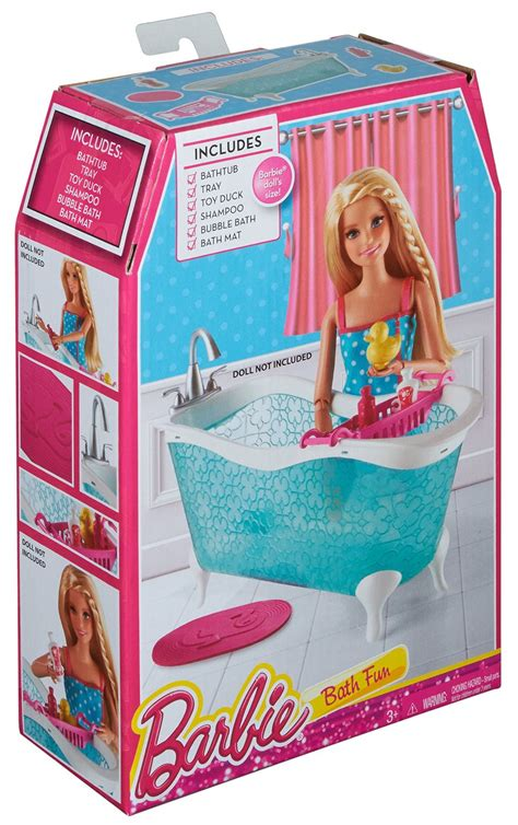 barbie bathtub barbie story starter bathtub playset4