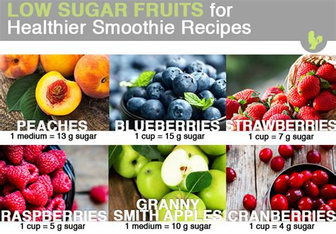 fruit with low sugar how to make low sugar smoothies blender