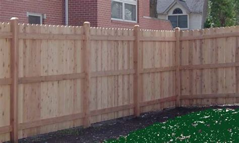 ear fence wooden fence installation dallas fort worth dfw fence install