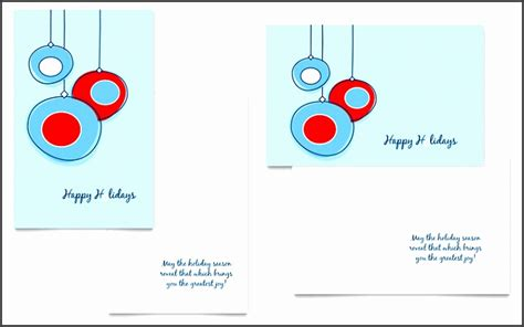Greeting Card Templates Free Microsoft Publisher 2010 by 5 Ms Word Greeting Card Template Sletemplatess