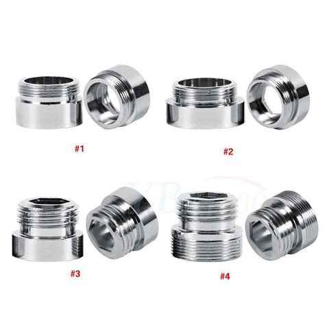 kitchen faucet adapter new 22mm g1 2 water purifier faucet aerator adapter kitchen bathroom use eb ebay