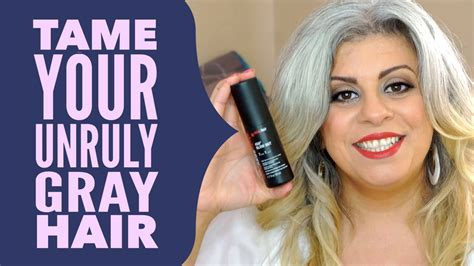 best shoo and conditioner for 50 yr old natural gray hair with favorite hair styling products