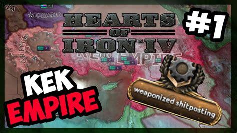 Hearts Of Iron 4 Memes - meme warfare hearts of iron iv kekistan mod tfv e 1 youtube