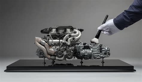 bugatti chiron engine bugatti chiron engine and gearbox scale model cars