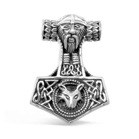 viking mjolnir thor s hammer odin s norse fox sterling