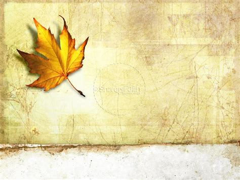 Autumn Powerpoint Template Fall Thanksgiving Powerpoints Fall Powerpoint Background