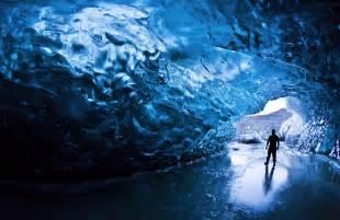 hidden unseen amazing glacier caves