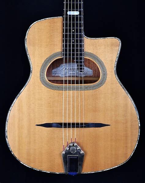 gypsy swing guitar david hodson srd503 d hole gypsy jazz guitar 2000 spruce