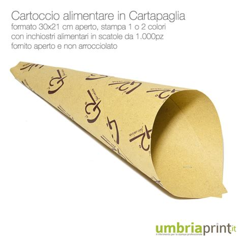 carta gialla per alimenti sta cartocci coni in carta paglia personalizzati