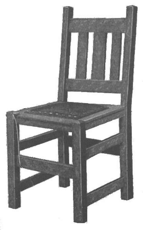 wood  mission style furniture plans blueprints