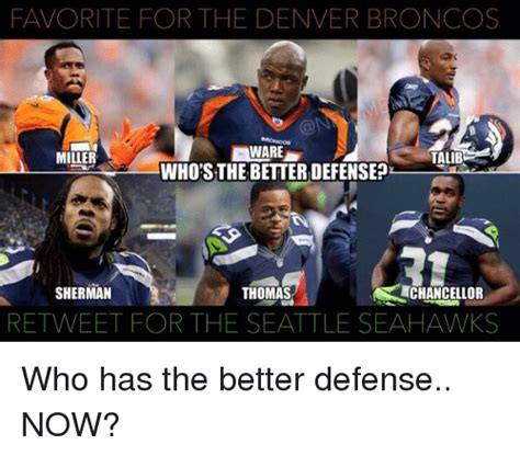 Broncos Defense Meme - funny seattle seahawks memes of 2017 on sizzle seattle