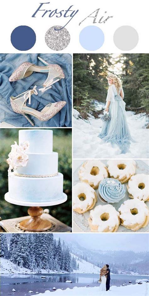winter color schemes 25 best ideas about wedding color schemes on
