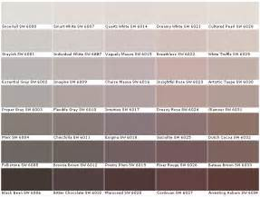 color mink sherwin williams sw6000 snowfall sw6001 grayish sw6002