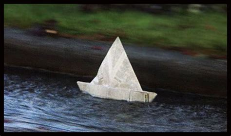 how to make a paper boat pennywise they all float down here by chip joyce meanwhile back