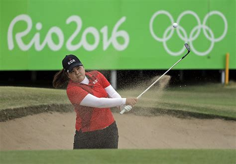 inbee park swing bishop gorman alum inbee park captures women s golf gold