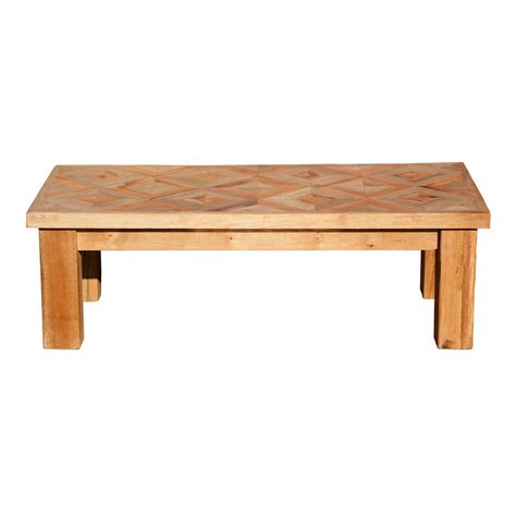 Oak Wood Coffee Table Made Reclaimed Oak And Yew Wood Coffee Table By