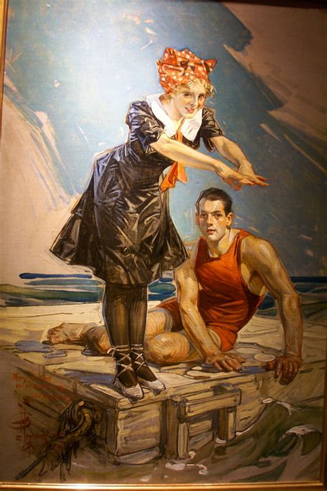 Painting C by 1000 Images About Illustrator J C Leyendecker 1874