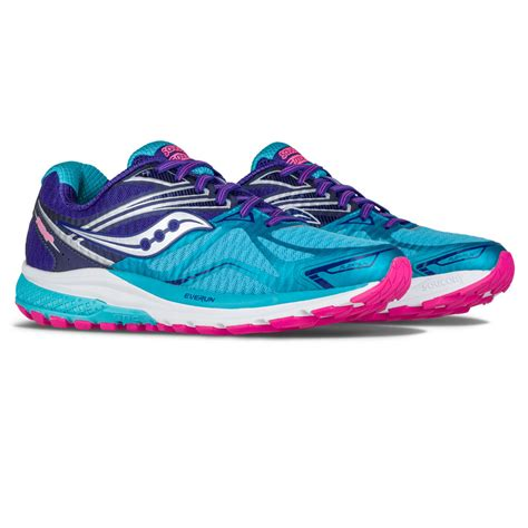 saucony ride womens running shoes saucony ride 9 s running shoes aw16 48