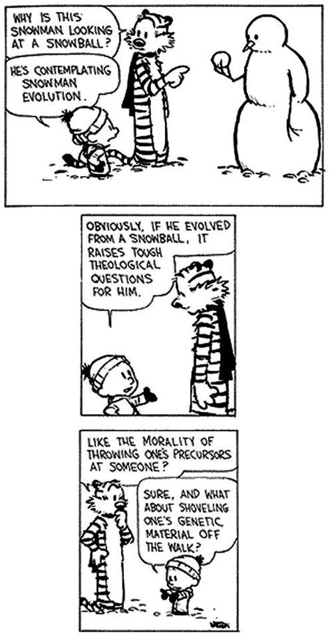 calvin and hobbes snowmen calvin hobbes snowmen strips are the best calvin and