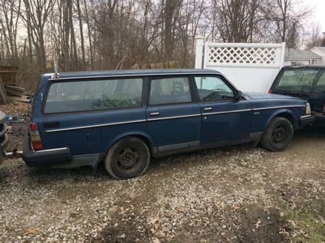 Volvo Wagon For Sale 1990 Volvo 240 Wagon 4 Door 2 3l Blue Blue Cloth Interior