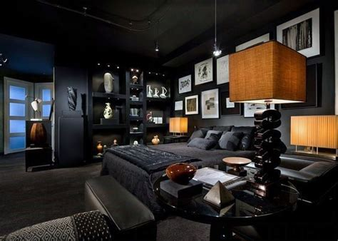 mens bedrooms pinterest amazing bachelor pad modern male bedroom designs home