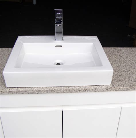 Square Vanity Basin fwpl1200sab 1200mm gloss bathroom vanity top and single square above counter