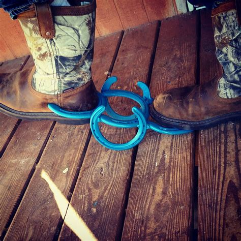 horseshoe decor boot country rustic by kadyskustomkrafts