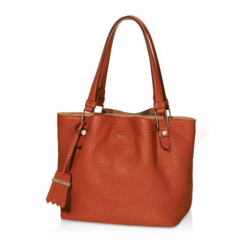 tod s tod s small flower bag in orange lyst