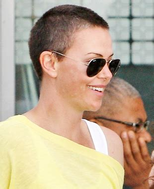 do older women save there hair in there private area female celebrities with shaved heads
