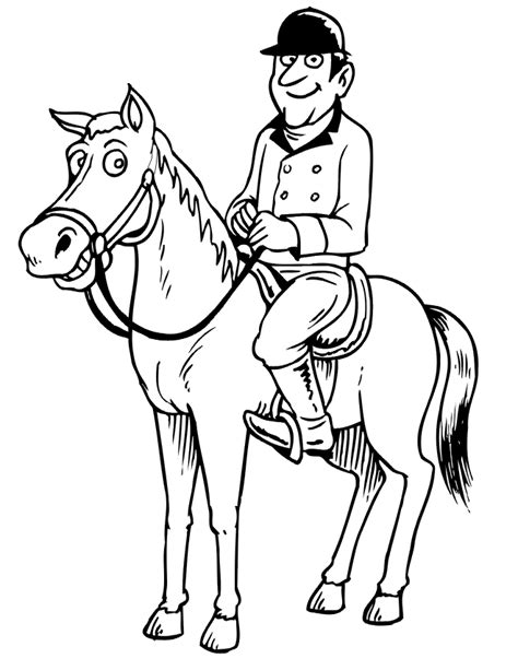 coloring pages of derby horses derby horse coloring pages coloring pages