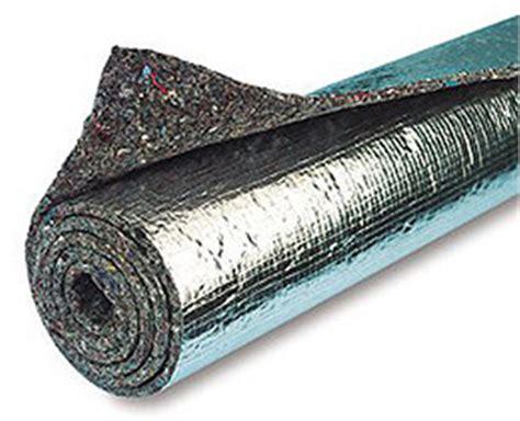 rod heat shield insulation sound deadener