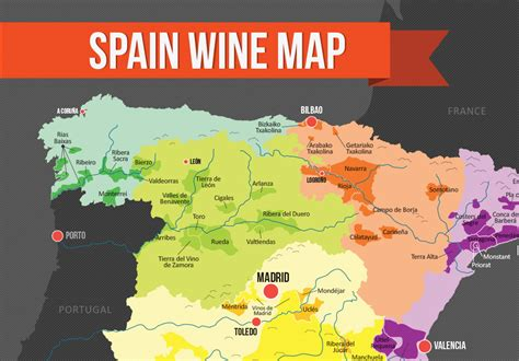 map of spain and regions rioja wine region map quotes