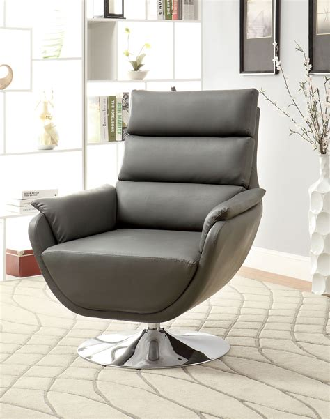 furniture  america contemporary nina swivel accent chair home furniture living room