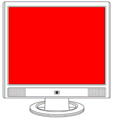 resetting hp monitor hp flat panel monitors color screens red green blue