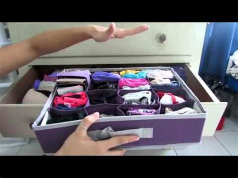 Total Home Interior Solutions by C 243 Mo Organizar Ropa Interior Mini Tips Youtube