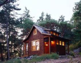 tiny house in landscape