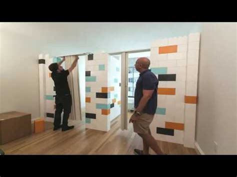 everblock system everblock modular divider wall for your property youtube