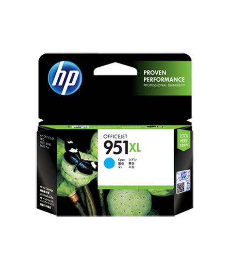 Barang Istimewa Catridge Hp 951 Xl Cyan hp 951xl cyan officejet ink cartridge buy hp 951xl cyan officejet ink cartridge at low