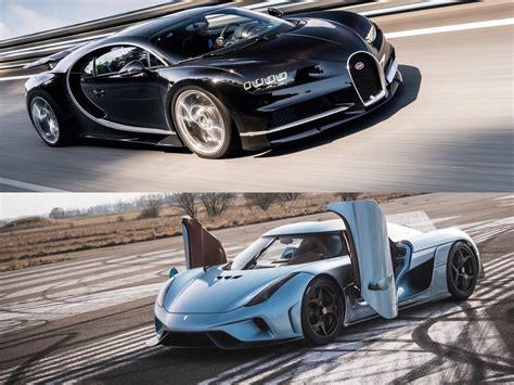 koenigsegg bugatti hypercar bugatti chiron vs koenigsegg regera