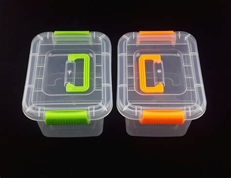 1pc 3 size small middle big 2016 new fashion tranasparent pp plastic storage box tool kit