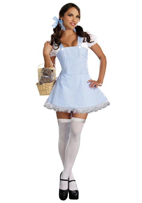 Dress Costume blue gingham dress costume