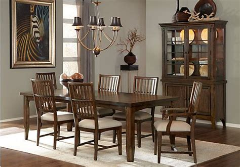 room to go dining sets shop for a merrydale brown cherry 5pc leg dining room at rooms to go find dining room sets that