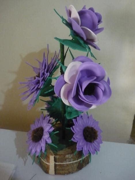 rosas moldes de flores para hacer arreglos florales en fomi goma eva hd arreglo de flores en fomi manualidades con fomi pinterest