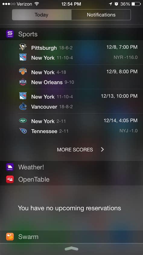 yahoo weather widget not working iphone